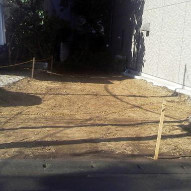 家屋 解体工事後 敷地
