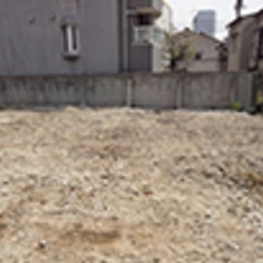 解体工事後 敷地