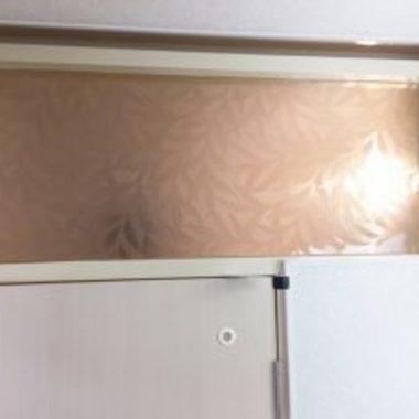 リフォーム後 トイレドア上のすりガラス