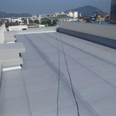 | 防水工事後 屋上