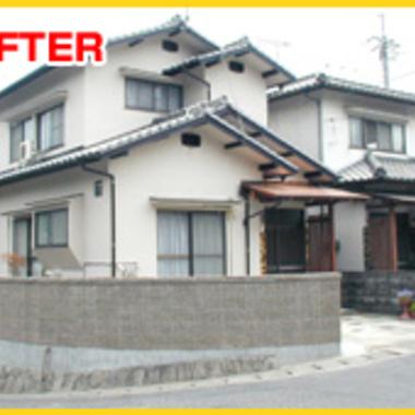 | 外壁塗装後 住宅外観