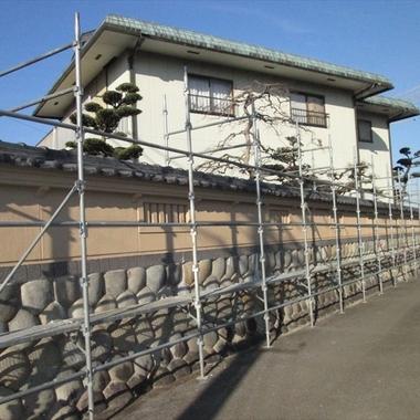 | 外壁塗装後 住宅外観・塀