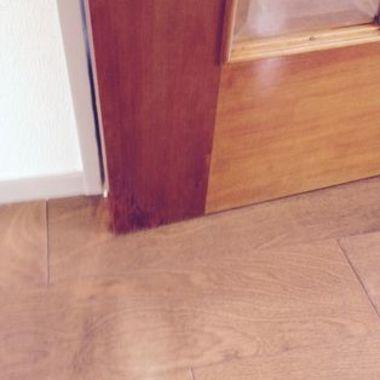 リペア後 ドア木部