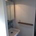 リノベ-ション 路地裏にあるショップの様な家 洗面所