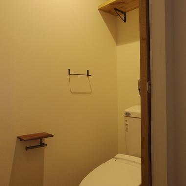 リノベ-ション 路地裏にあるショップの様な家 トイレ