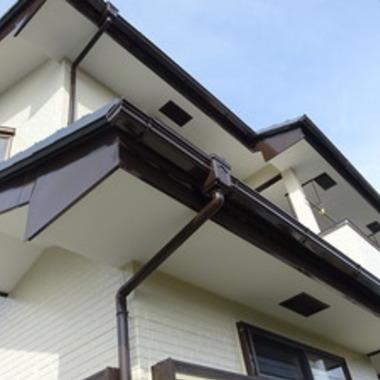サイディング交換 雨漏り工事 外壁塗装 後 ズーム写真