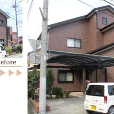   屋根・外壁塗装 前と後