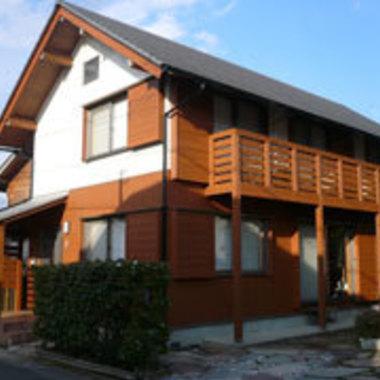 キレイな仕上がりの外壁 屋根塗装塗装作業