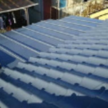 | 屋根塗装工事