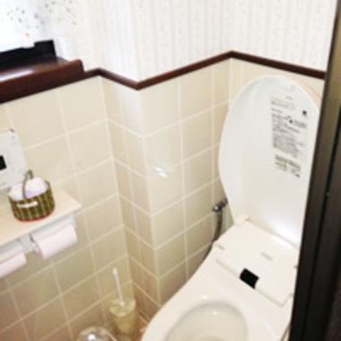 和式トイレを様式トイレへリフォ-ム 後