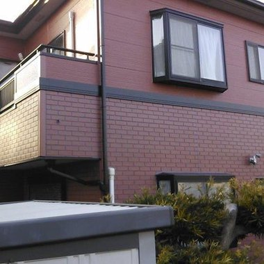 外壁塗装 日本ペイント:ファインSI 施工後