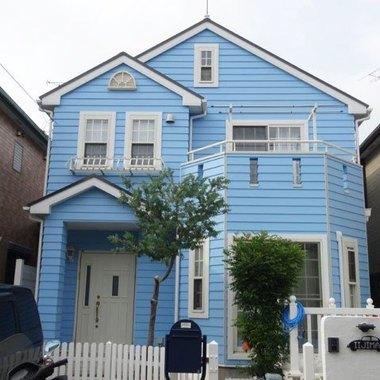 外壁塗装 屋根塗装 日本ペイント:ファインシリコンベスト 施工後