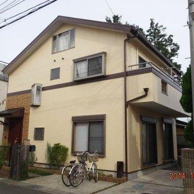 外壁塗装 屋根塗料 日本ペイント ファインサーモアイシリコン 施工後