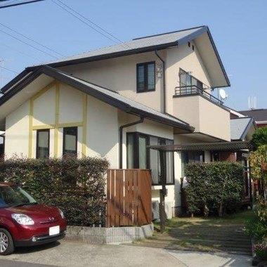 外壁塗装 屋根塗料 中央日本研究所:アドグリーンコート 施工後