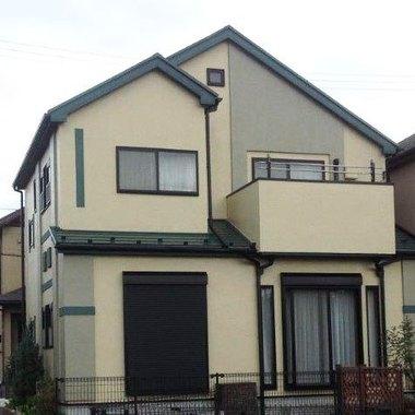 外壁塗装 屋根塗料 日本ペイント:ファインサーモアイシリコン 施工後