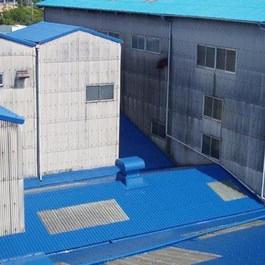 工場 スレート屋根塗装 後