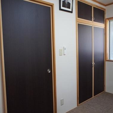 住宅リノベーション後 ドア