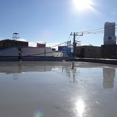 屋上防水工事 綺麗な仕上がり