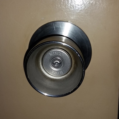 錠前鍵交換・美和ロックのU9シリンダーへ交換