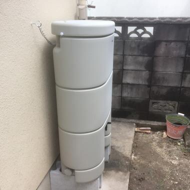 | 雨水タンク設置工事 レインセラー150