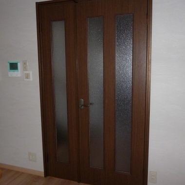 室内建具 ドア取付後