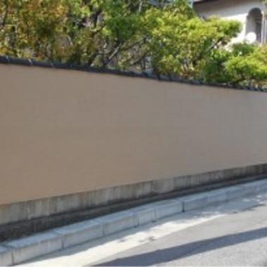 | 外塀の塗装工事