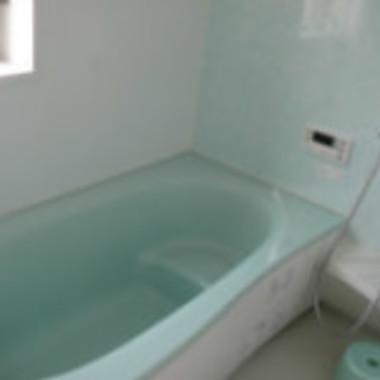 浴室クリ-ニング後