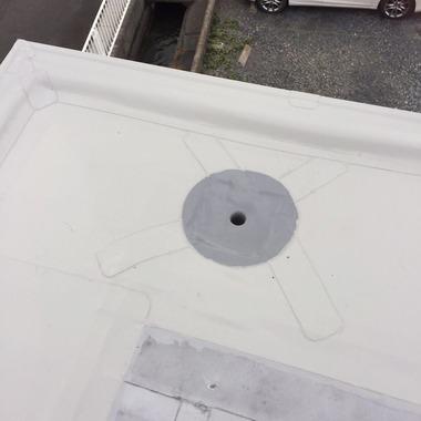 | 屋根シート防水工事・雨漏り修理 後