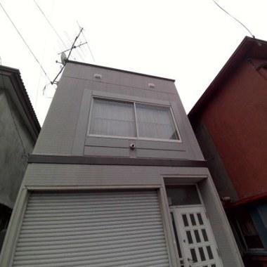 | 外壁補修後 正面