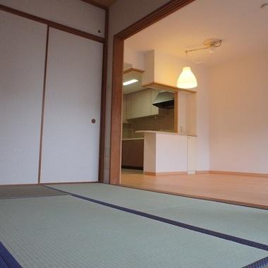 内装工事後 和室 畳