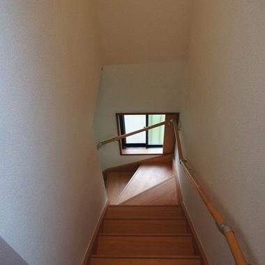 室内階段設置後