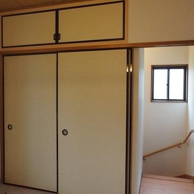 室内階段設置後 手すり設置