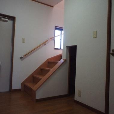 室内階段設置後 一階部分