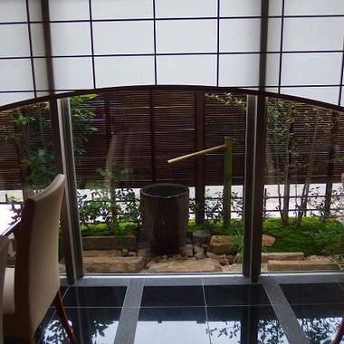 店舗の外構工事 庭・花壇