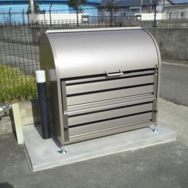 集合住宅 ゴミ箱設置