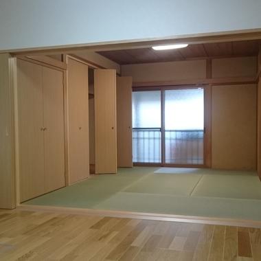 富山市 増改築工事後 和室