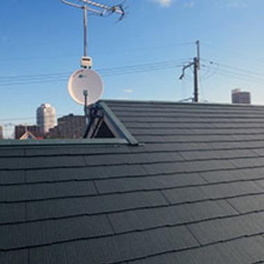 | 屋根葺き替え工事後