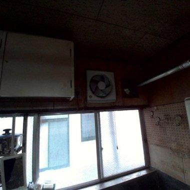 | 換気扇 天井掃除後 換気扇