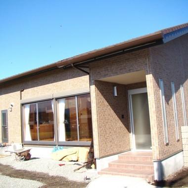 | 洋風新築工事 煉瓦