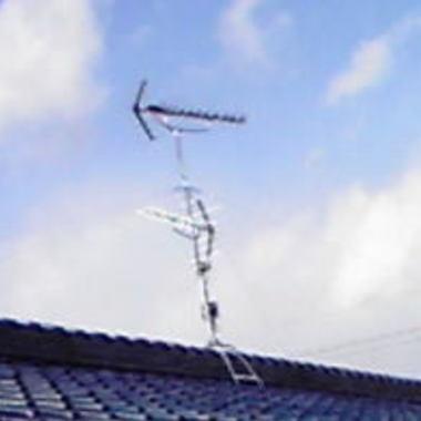 | 名古屋市南区 地上デジタル対応工事後 アンテナ