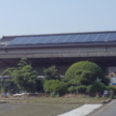 人吉市 太陽光パネルの設置