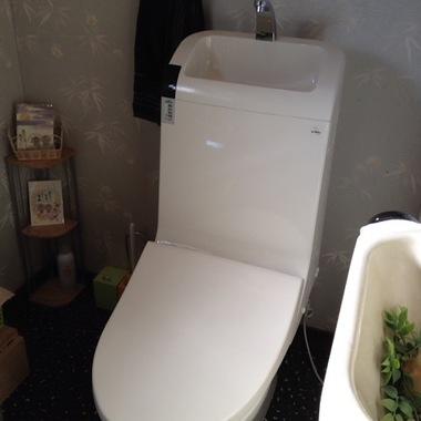 トイレ器具交換後