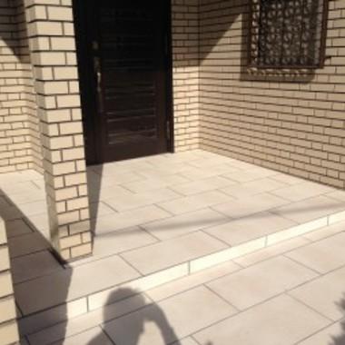 タイル張替え後 玄関
