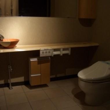 飲食店店舗内装工事後 トイレ