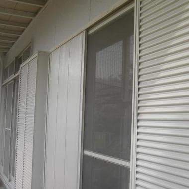 外装リフォーム後 窓付近外壁塗装