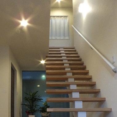 | 階段周りリフォーム後