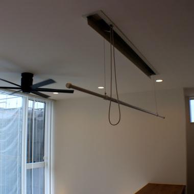 吹き抜けにリフォーム 天井部分