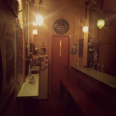 カフェにリフォーム カウンター