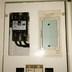 漏電ブレーカー 50アンペア 取付 分電盤内配線組換え 全体画像