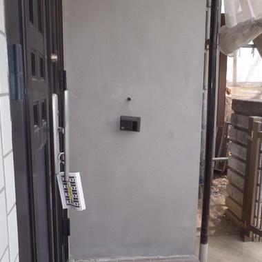 外壁補強修理・外壁塗装 完了